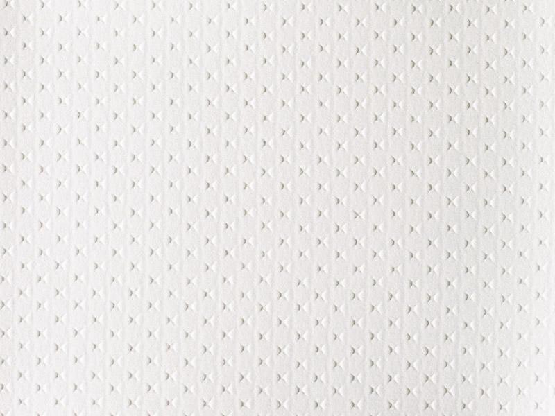 0374 P weiss / geprägt, 140 cm breit