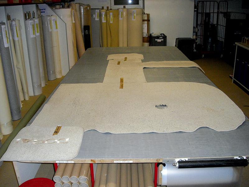 Altbelag als Vorlage zur Fertigung (Beispiel) anfertigung Production anfertigung altbelag 2