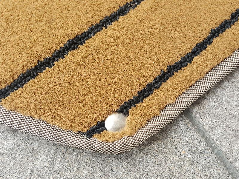 Edelstahl-Druckknopf, eingefügt in ART-Deluxe 4100 Teak black edelstahl-druckknöpfe Snap fasteners (rustproof) druckknopf in art deluxe