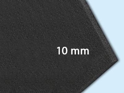 10 mm (1,0 x 2,0 m = 2,0 m²)