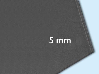 5 mm (1,0 x 2,0 m = 2,0 m²)