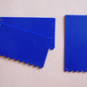 kunststoff-zahnspachtel Plastic notched trowel zubehoer kunststoff spachtel 300x300