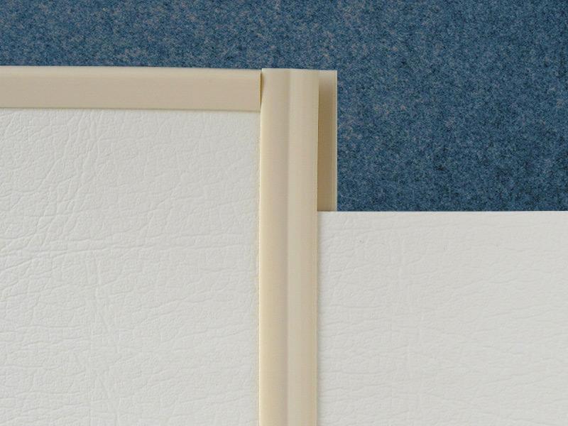Anwendungsbeispiel Montageschienen - Verarbeitung von Wandverkleidung in Booten pvc schienen PVC mounting rails PVC Schienen darstellung2