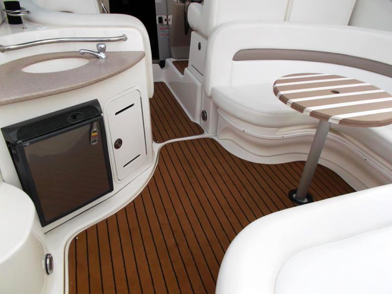 Bootsteppich Bodenbelag Boot ART-Deluxe art-deluxe Art-Deluxe Boat carpet art deluxe anwendung 3 teak black 1
