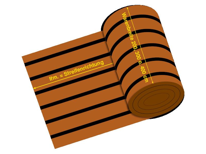 Bootsteppich, Bodenbelag FLEX-Line flex-line FLEX-Line PVC flooring indoor flex line streifenrichtung 200300400 1
