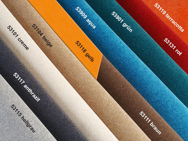 Polsterstoff SARIA saria Saria Polsterstoff saria darstellung farben 1