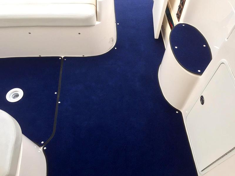 Bootsteppich Bodenbelag Boot Spectropile bootsteppich SPECTROPILE boat carpet spectropile wedding 1