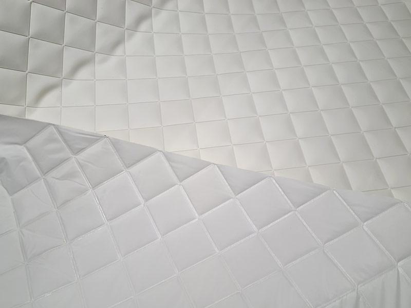 Wand- und Deckenverkleidung Bootstapete KARO geschweißt outdoor karo geschweisst Karo welded outdoor karo geschweisst 1