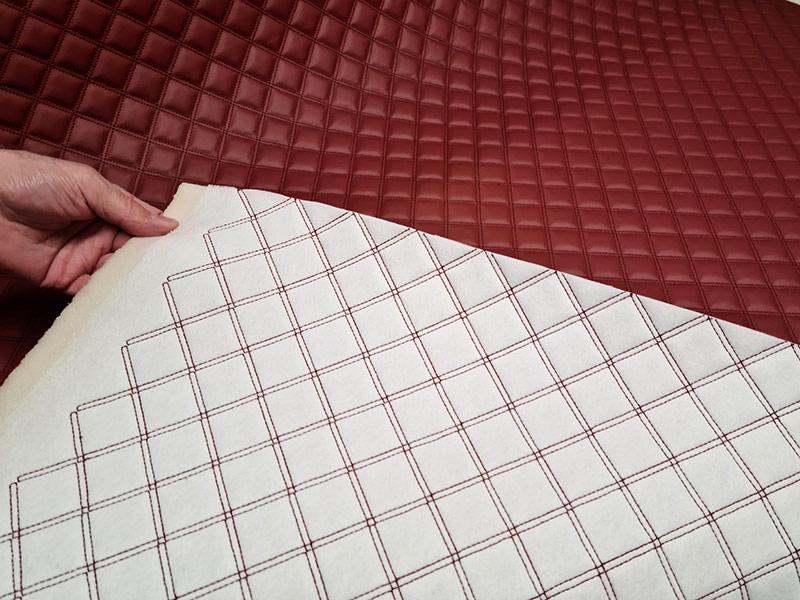 Wand- und Deckenverkleidung Bootstapete KARO gesteppt indoor karo gesteppt Karo gesteppt indoor karo gesteppt 2