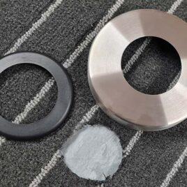 teppichring Cover rosette / carpet ring teppichring 09 beide 268x268